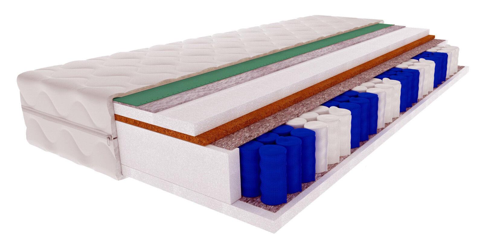 Matratze mit Kokos 9 Zone BOHOL Taschenfederkern Control Cooling Technology 20