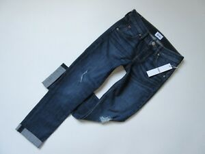NWT-Hudson-Bacara-in-Wilson-Destroyed-Crop-Straight-Cuffed-Stretch-Jeans-26