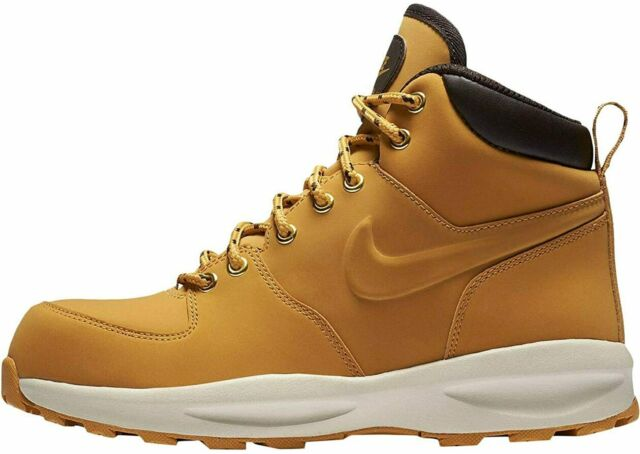 Nike ACG Manoa Leather 'Haystack' Water Resistant Sneaker Boots Men's Size 12