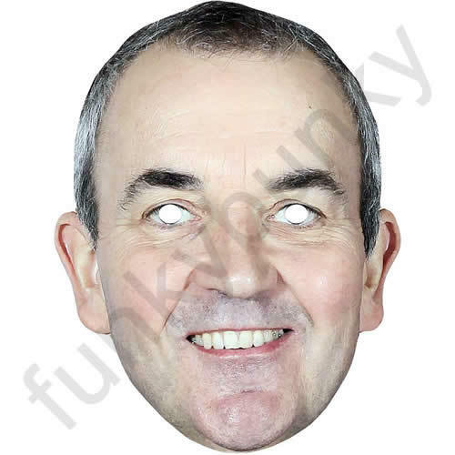 All Our Masks Are Pre-Cut! Phil Taylor Celebrity Darts Card Mask