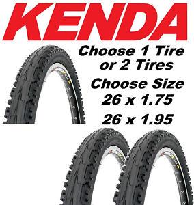 KENDA MOUNTAIN BIKE CITY TIRE BICYCLE 26 x 1.75 26x1.75