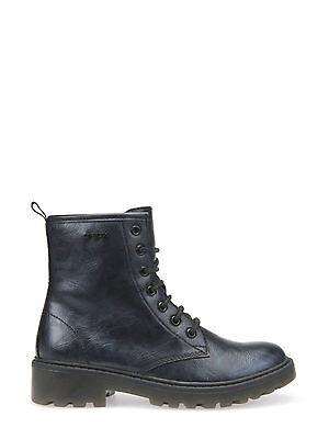 Geox shoes junior Amphibians leather