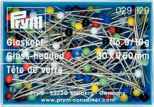Prymglaskopfstecknadeln 10g agujas 30x0,6mm alfiler 029129