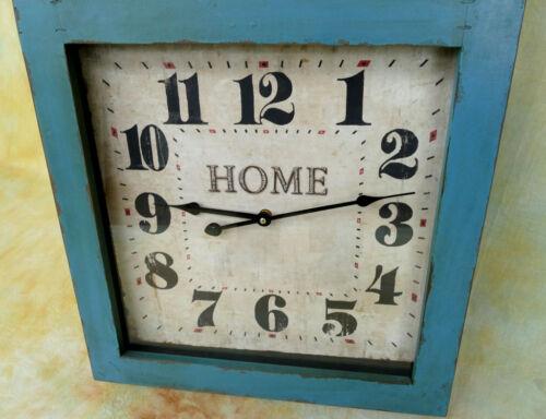 Wanduhr Patina Küchenuhr Vintage Retro Orientalisch Schmiedeeisen Uhr MU480-a