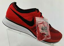 3a5fd8a69dace Nike Mens Shoes AH8396-601 Flyknit Trainer University Red Black White Size  13