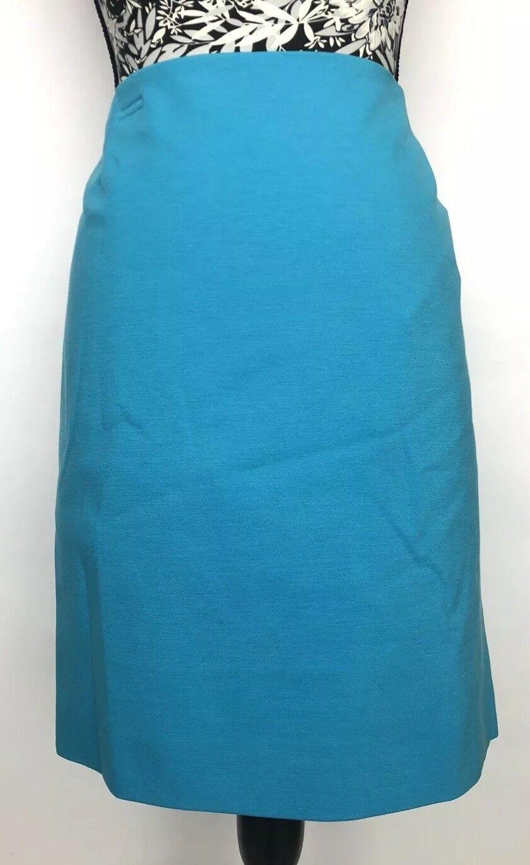 Akris Punto Mujeres Falda  Talla 10 Nuevo con etiquetas Viscosa Mezcla Azul Brillante  bajo precio del 40%