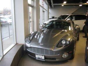 2004 Aston Martin V12 Vanquish Leather