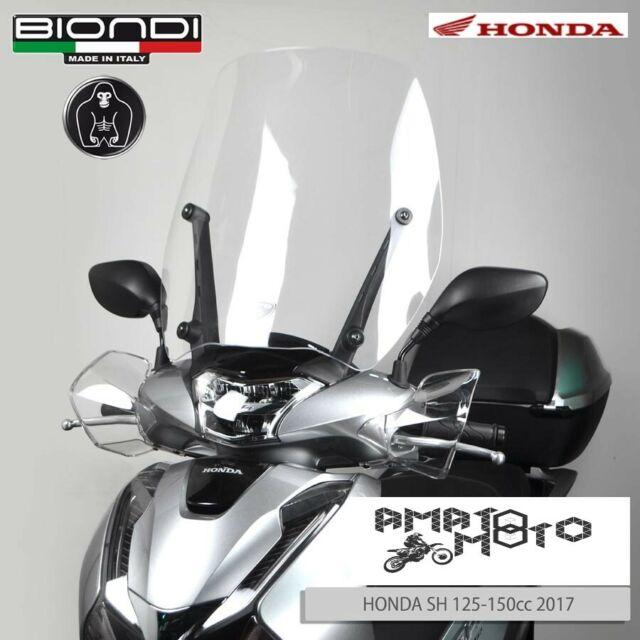 8061281 PARAVENTO BIONDI SOLO LASTRA PER STAFFE ORIGINALI HONDA SH 125-150 17>