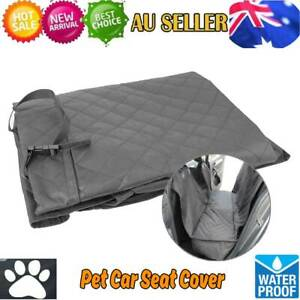 Folding-Pet-Rear-Seat-Cover-Protector-Dog-Cat-Cushion-Travel-Mat-for-Cars-New-AU