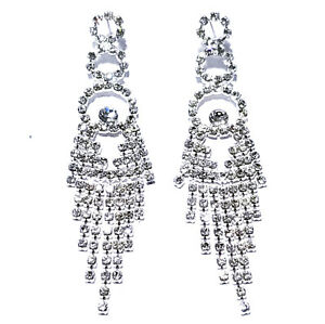 Chandelier-Earring-Earrings-Austrian-Crystal-Rhinestone-Bridal-Pageant-Prom-3-75