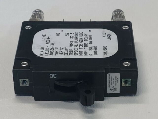LMLK1-1RLS4-29877-15-V AIRPAX 100 AMP DC BULLET CIRCUIT BREAKER