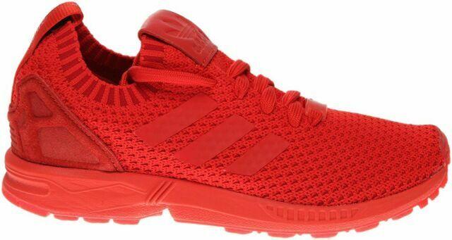 Size 10.5 - adidas ZX Flux Primeknit Red for sale online   eBay