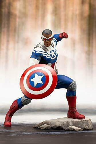 ARTFX+ Marvel Universe CAPTAIN AMERICA (SAM WILSON) WILSON) WILSON) 1 10 PVC cifra Kotobukiya 8253c2
