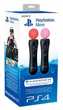 PS4 SONY PLAYSTATION 4 MOVE TWIN PACK SET VR MOTION CONTROLLER MOVIMENTO PS3 3