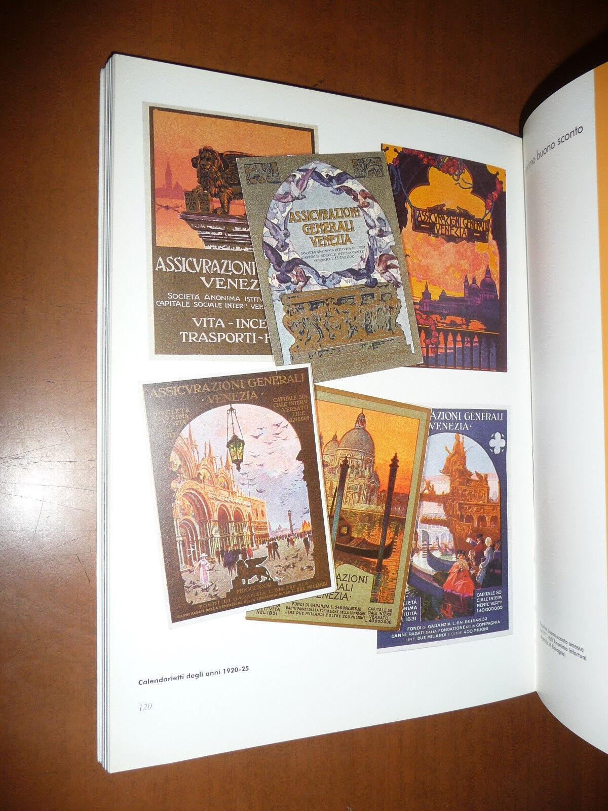 ASSICURAZIONI GENERALI TRADIZIONE DI IMMAGINE 1993 PUBBLICITA' GRAFICA MANIFESTI