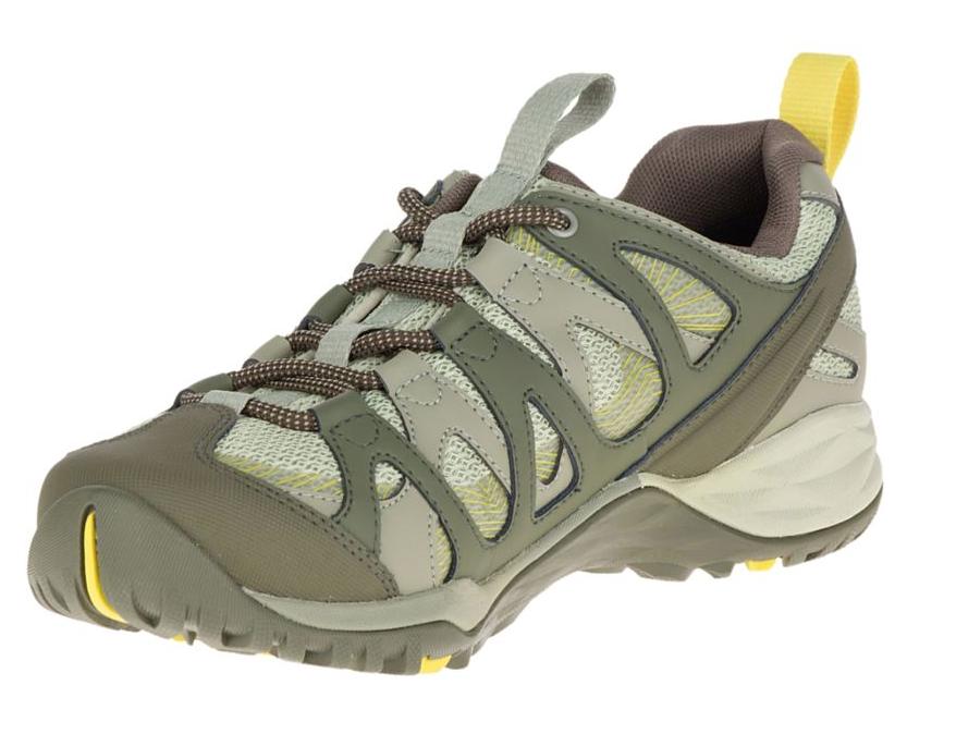 Merrell Merrell Merrell Women's Olive Siren Hex Q2 Waterproof Sneakers Sz 8.5 1144 becaf5