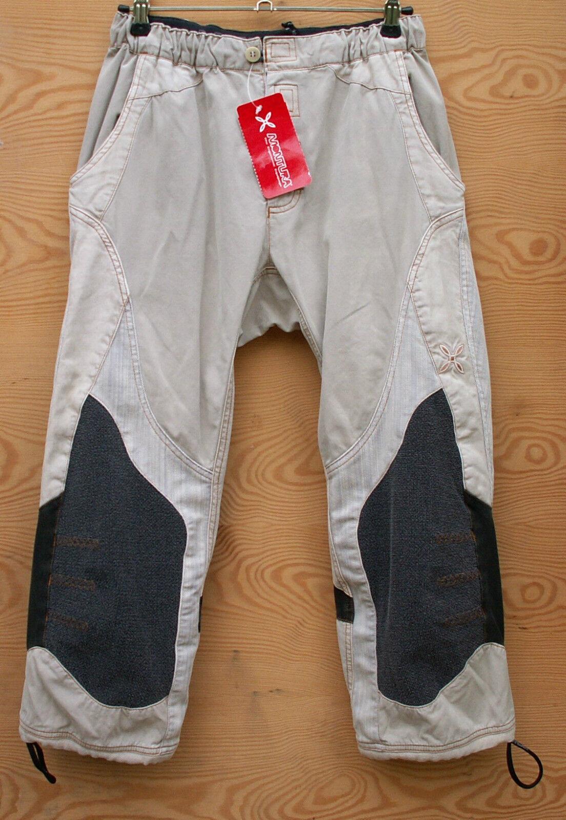MONTURA Climbing Pants Fusion K.3 4  Trousers Women's, White, Size XS  low-key luxury connotation