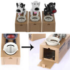 Cute Dog Model Piggy Bank Money Save Pot Coin Box Creative Gift Or Cat Toy HR