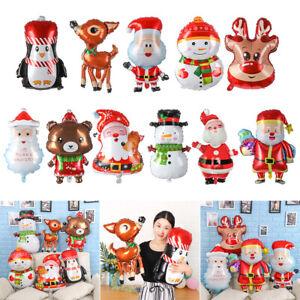 Un-cadeau-Fete-du-nouvel-an-Helium-ballon-Buck-Pere-Noel-Decoration-de-Noel