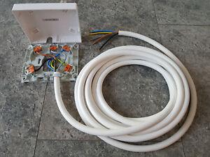 Herdanschluss Kabel/Leitung 5-20m mit Anschlußdose MEG1010 3-f. 5x2,5mm² schnell