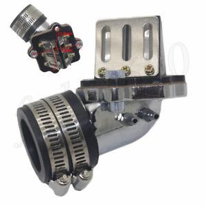 Intake-Manifold-w-Reed-Valve-for-2-Stroke-50cc-Yamaha-Jog-Vino-Moped-Scooter