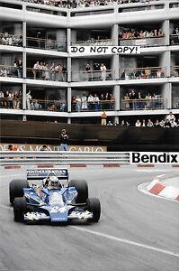 9x6-Rupert-Keegan-F1-Hesketh-308E-Monaco-Grand-Prix-1977