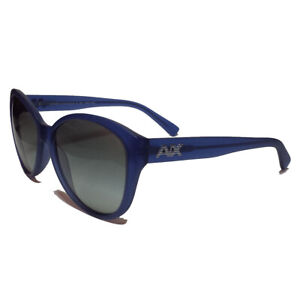 Armani-Exchange-AX-4006-Sunglasses-Blue-Frame-Black-Lens