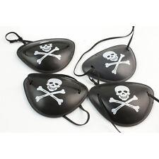 2X Pirate Eye Patch Skull Crossbone Halloween Party Favor Costume Kids Toy U2