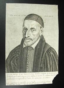 C1700-Xvii-Stone-Mariette-Exudit-Portrait-of-Theologian-Stone-Leclerc-Sorbonne