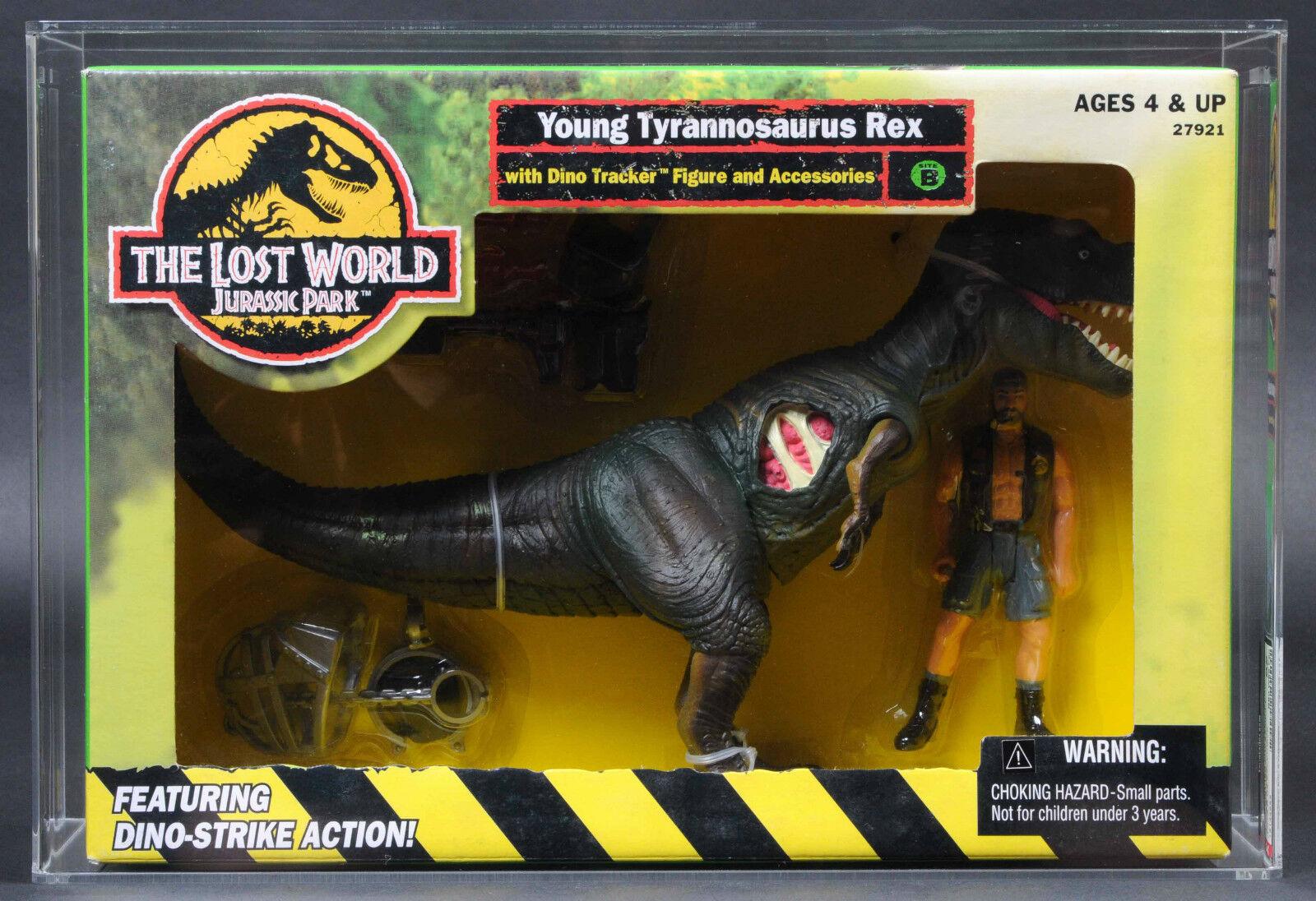 1997 Jurassic Park The Lost World Young Tyrannosaurus Rex T-Rex AFA 85 Toys R Us