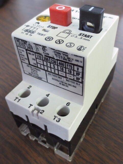 Klockner Moeller PKZM 1-16 Motor Starter