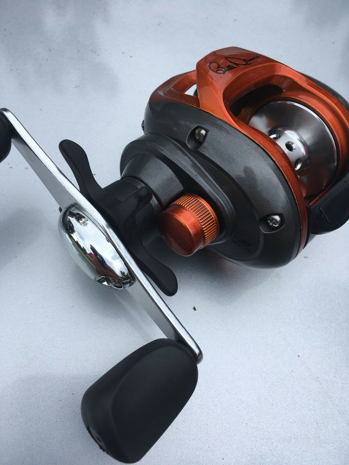 Quantum Left Hand Bait Casting Reel Bill Dance 6.2 1