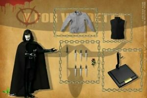 CT013 V for Vendetta 2.0 PVC Figure Toy Collection 30cm New in Box