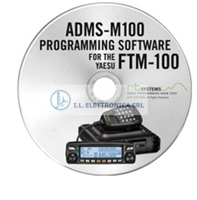 ADMS-M100-U SOFTWARE GESTIONE PC PER RTX YAESU FTM-100 REF 700027