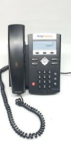 Ring-Central-Polycom-IP-335-Soundpoint-VOIP-Telephone-With-Power-Cord