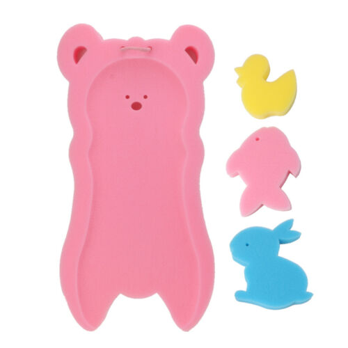 Newborn Anti-slip Sponge Pad Baby Bath Tub Bathing Pad Infant Shower Baby Care