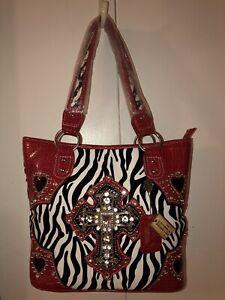 SBR Designs - Womens Leather Organizer Purse Shoulder Bag