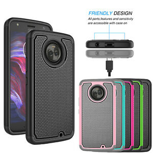differently b2ab2 c7ae2 Details about For Motorola Moto X4 (X 4th Gen) Phone Case Hybrid Shockproof  Armor Slim Cover