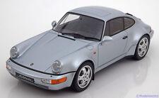 1:18 GT Spirit Porsche 911 (964) 30 Anniversary silver ltd. 504 pcs.