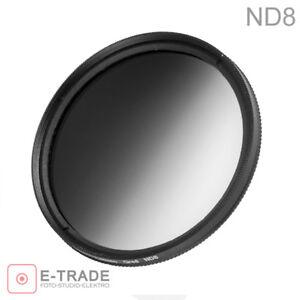 Verlaufsfilter-Halb-Graufilter-ND8-82mm-82-mm-GREY-FILTER-Filterbox