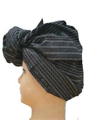 Ankara Wax Print African Head Wrap-Cheveux Accessoire-turban-Machine Weaven