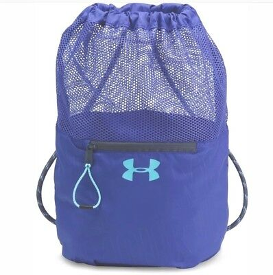 708e0977fa NWT UNDER ARMOUR GIRLS BUCKET SACKPACK DRAWSTRING PURPLE STORAGE SPORTS BAG