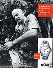 Publicité advertising 1997 La Montre Tissot PR 100 autoquartz