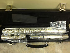 NEW STUDENT GEMEINHARDT 3O OPEN HOLE FLUTE WITH OFF SET G MODEL 30!!!