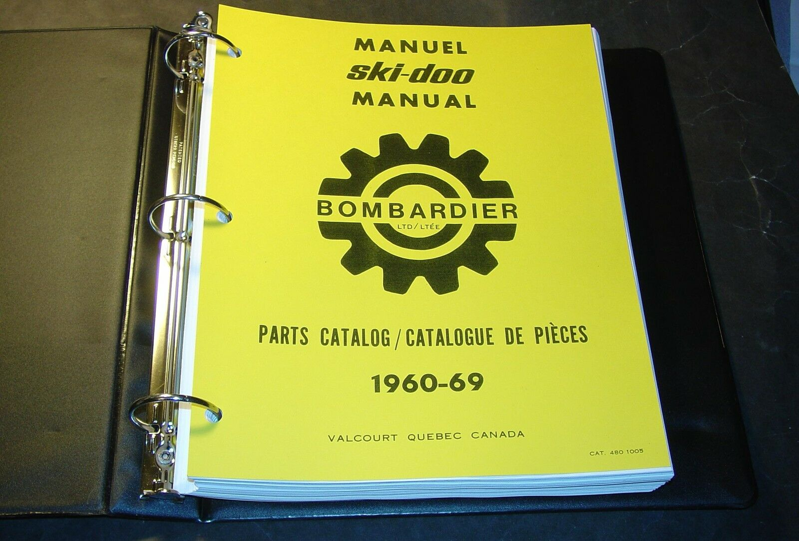1960-1969 SKI-DOO T'NT OLYMPIQUE, NORDIC PARTS MANUAL  SNOWMOBILE 450 PAGES (289)  most preferential