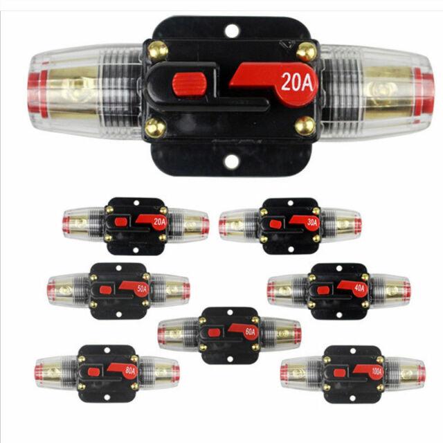 60VDC DHLDE Leistungsschalter 20A Automatische Sicherung Automat Marine KFZ 12V