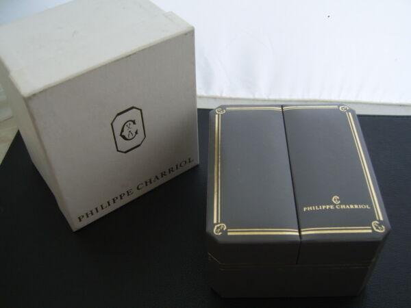 100% Wahr Philippe Charriol Box - Neuwertig / Mint & Überkarton - Selten - Nos Keine Kostenlosen Kosten Zu Irgendeinem Preis