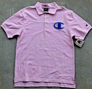 Champion Purple Big C Logo T Shirt Men/'s M