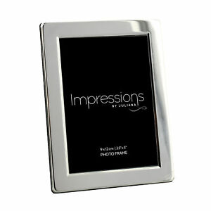 Silver-Plated-Photo-Frame-Impressions-by-Juliana-3-5-034-x-5-034-Picture