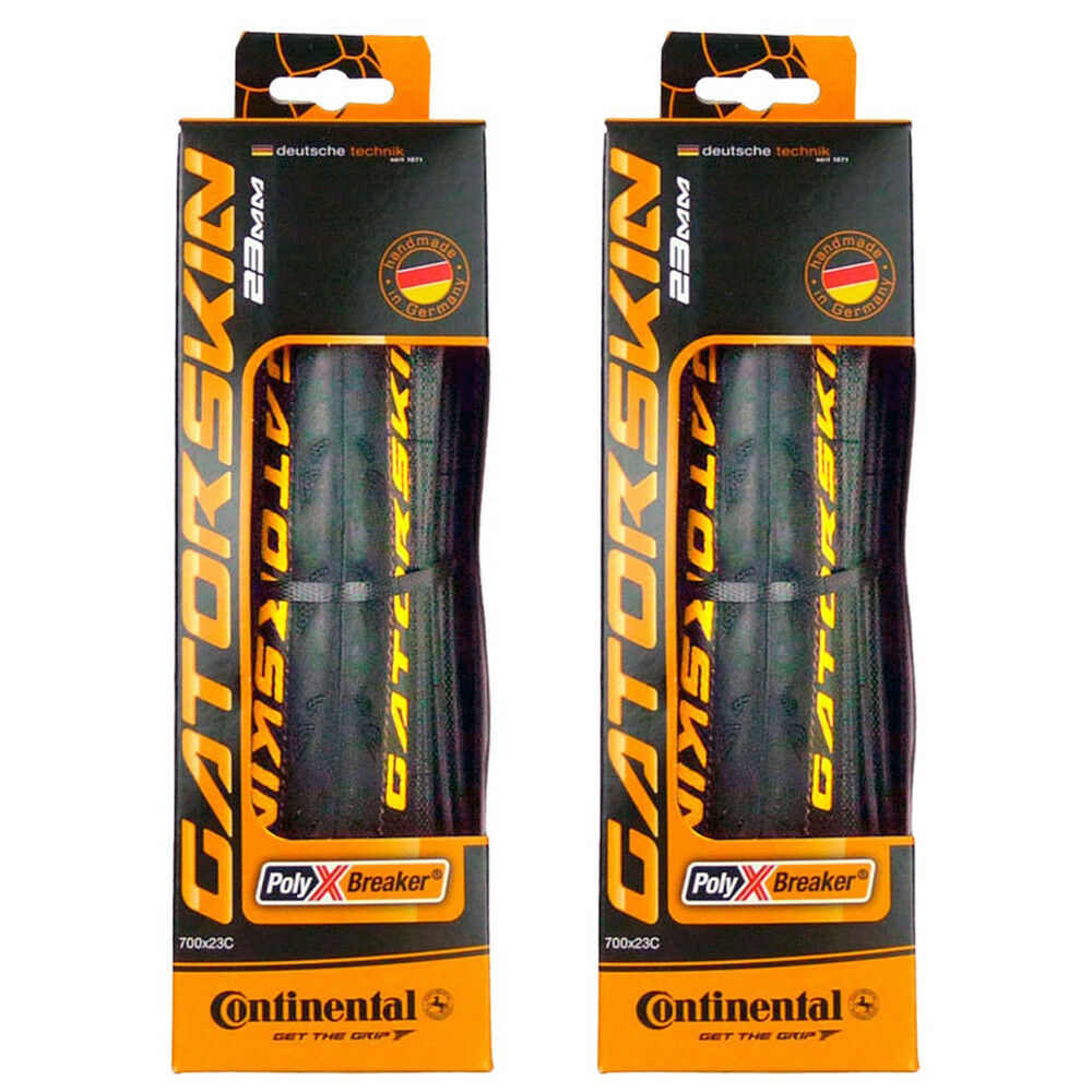 Continental Gatorskin Plegable Pares Ruedas 700x23c Pinchazos Resistente 700c